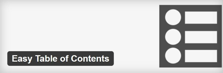 WordPress PlugIn - Easy Table of Contents