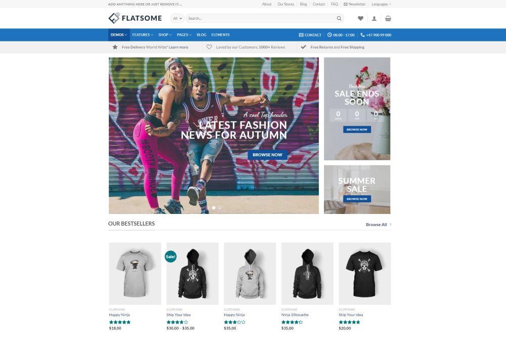 Flatsome Premium WooCommerce Theme