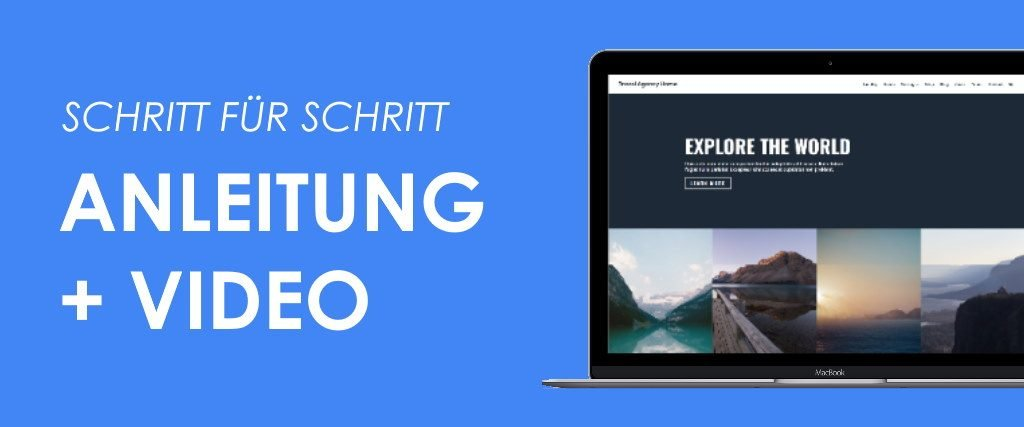 Divi Theme Tutorial Titelbild