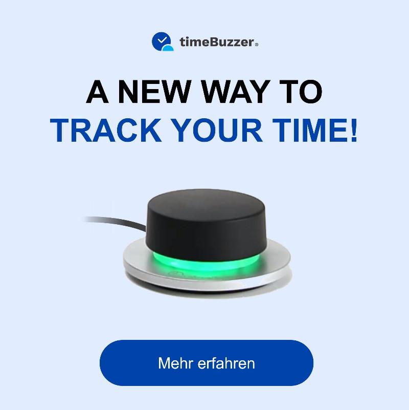 timeBuzzer Zeiterfassungsgadget