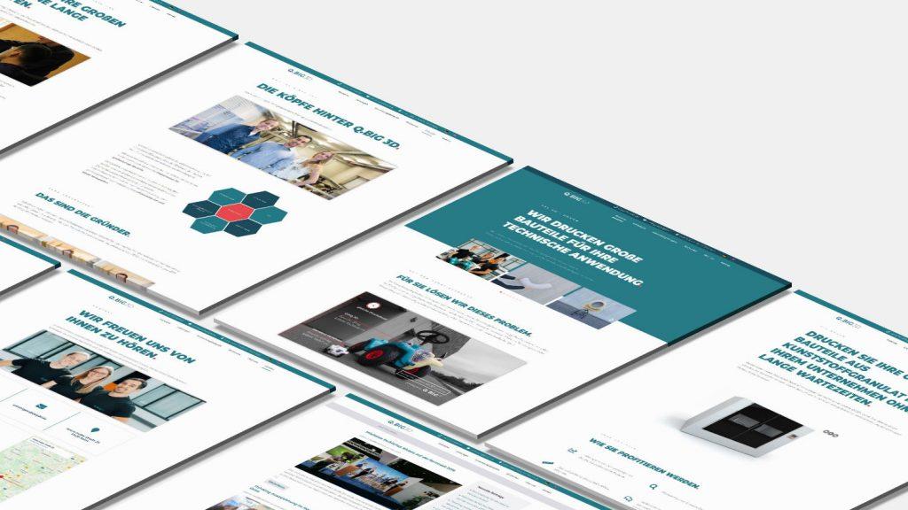 Business Premium Website Mockup