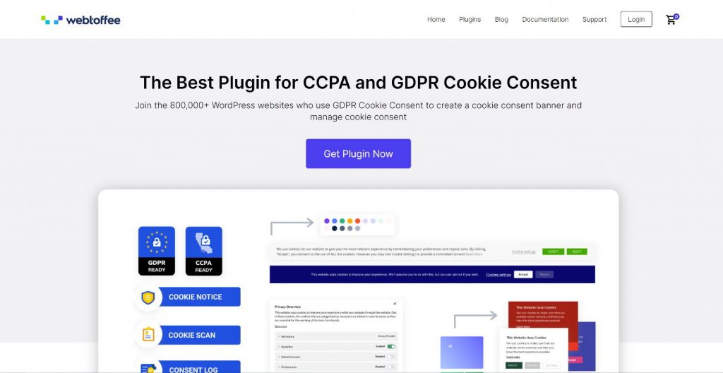 Webtoffee - GDPR-DSGVO Cookie Consent Plugin für WordPress