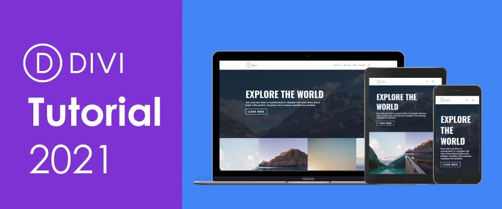 Divi Theme Tutorial für WordPress